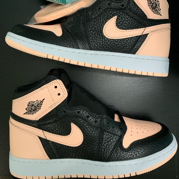bf296607abf Jordan Shoes | 1 Black Crimson Tint Gs Size 45 | Poshmark